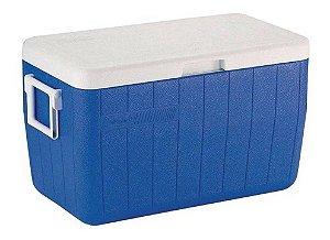 Caixa Térmica Coleman 48QT 45,4 Litros - Azul
