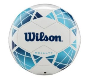 Bola De Futebol Wilson Royalty Diamond No.5 Azul