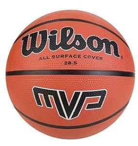 Bola de Basquete Wilson MVP - Marrom