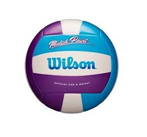 Bola Volei Wilson Matchpoint - Azul e Roxo