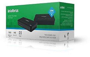 Switch 8 portas Fast Ethernet - SF 800 Q+