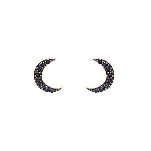 Stud Lunar Azul