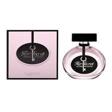 ANTONIO BANDERAS HER SECRET EDT FEM 80ML