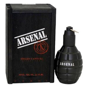 Arsenal Black Perfume Masculino