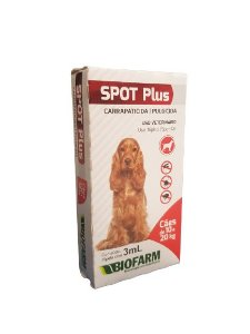 Spot Plus Carrapaticida Pulgicida 10 A 20kg