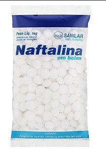 Naftalina em bolas  Sanilar 1kg