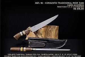 Conjunto SG Picanheira Tradicional 3mm