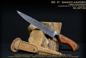 Faca SG de Damasco Aleatório
