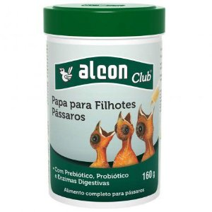 Alimento Alcon Papa para Filhotes Pássaros 160g