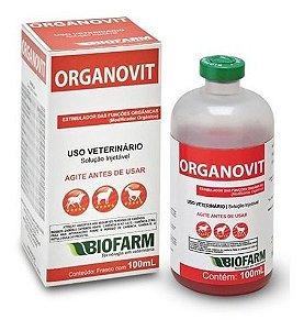 Modificador Orgânico Organovit Injetável 100ml