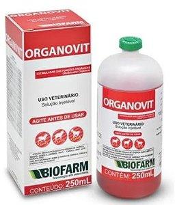 Modificador Orgânico Organovit Injetável 250ml
