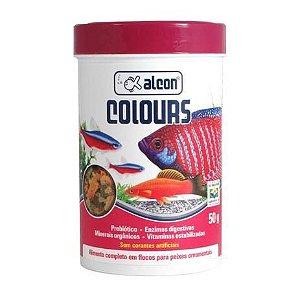 Alimento Para Peixes Alcon Colours