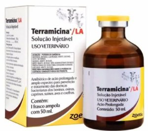 Antibiótico Terramicina LA Injetável