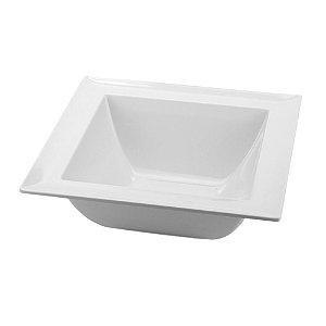 Saladeira Quadrada 25x25cm 100% melamina - Gourmet mix