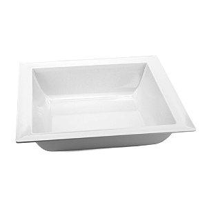 Saladeira Quadrada 37x37cm 100% melamina - Gourmet mix
