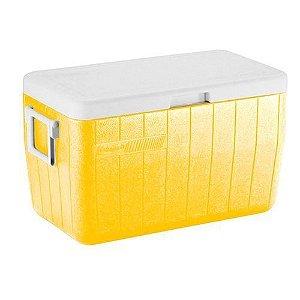 Caixa Térmica 45,4Lts Amarelo - Coleman
