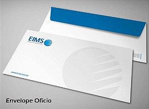 500 Envelopes - Tamanho 23x11,5cm - 4x0 Cores - Papel Sulfite 90g