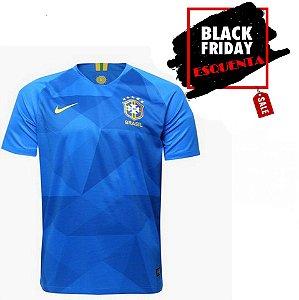 Camisa Seleção Brasil I Copa 2018 s n° - Torcedor Nike Masculina - Azul b0f6775182657