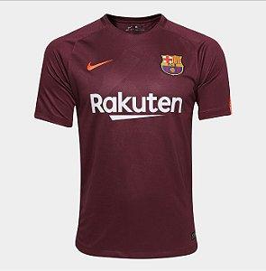 4409b4923c1cc Camisa Barcelona Third 17 18 s n° - Torcedor Nike Masculina - Vinho
