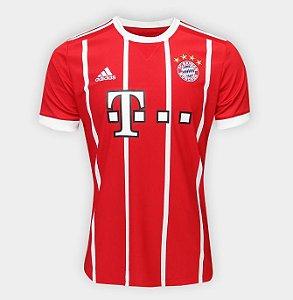 Camisa Bayern de Munique Home 17 18 s nº Torcedor Adidas Masculina -  Vermelho 5b2cdf2472ce2