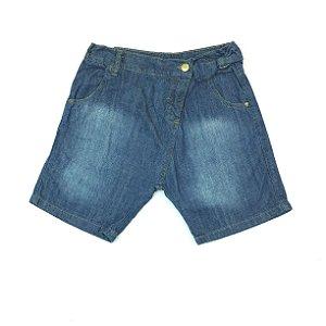 Bermuda Jeans Azul Infantil Palomino