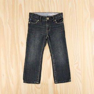 Calça Jeans Azul Escuro Infantil Baby Gap
