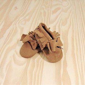 Sapatilha Camurça Marrom Infantil Baby Gap