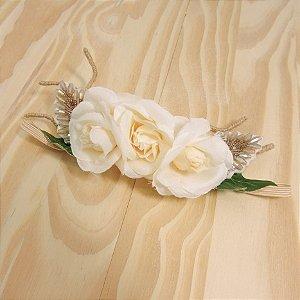 Faixa De Cabelo Flor