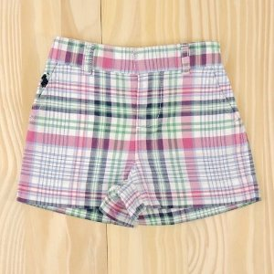 Shorts Xadrez Infantil Ralph Lauren