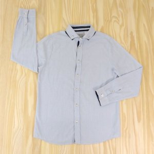 Camisa Azul Infantil Zara Boys