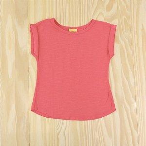 Camiseta Pink Infantil Mineral