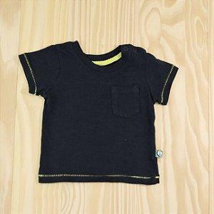 Camiseta Azul Marinho Infantil Tip Top