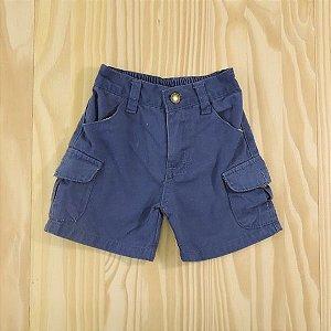 Shorts Sarja Azul Infantil Tip Top