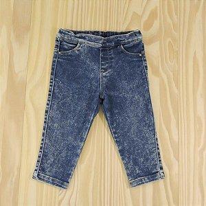 Calça Jeans Azul Estonada Infantil Zara BabyGirl