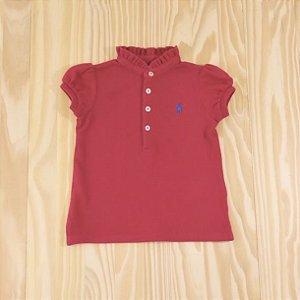 Camiseta Pink Infantil Ralph Lauren