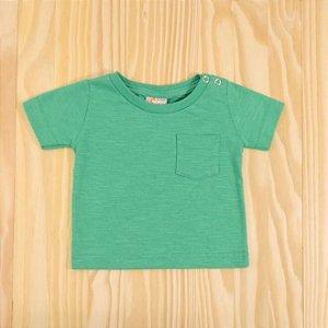 Camiseta Verde Infantil Clube do Dino
