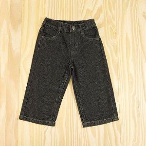 Calça Jeans Preta Infantil Nautica