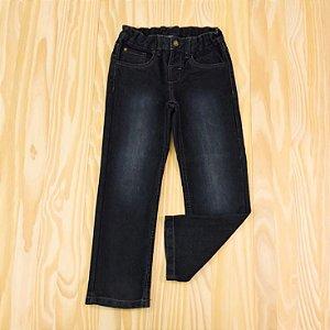 Calça Jeans Azul Marinho Infantil Palomino
