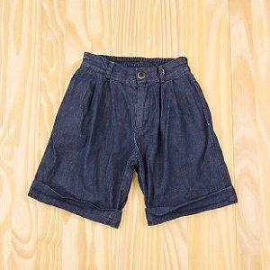 Bermuda Jeans Azul Infantil