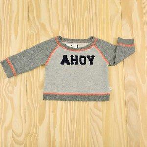 Moletom Cinza Infantil Baby B'Gosh