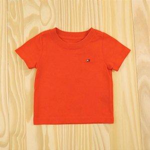 Camiseta Vermelha Infantil Tommy Hilfiger