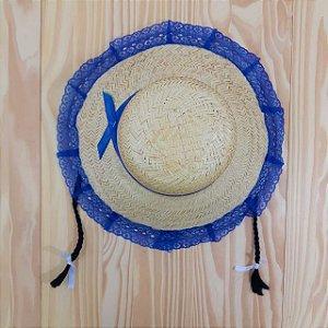 Chapéu Caipira com Tranças Infantil Outlet