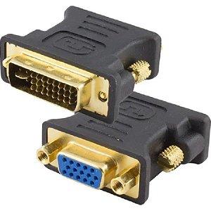 ADAPTADOR DVI-I MACHO (24 5 PINOS) P/ VGA FÊMEA ADAP0014 STORM BOX