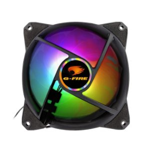 COOLER FAN PARA GABINETE EW2012A 120MM RGB G-FIRE BOX