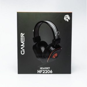 FONE DE OUVIDO HEADSET HF2206 GAMER HAYOM BOX