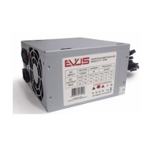 FONTE ATX 200W 20/24 PINOS FT-200W 2* SATA 2* IDE S/CABO EVUS OEM