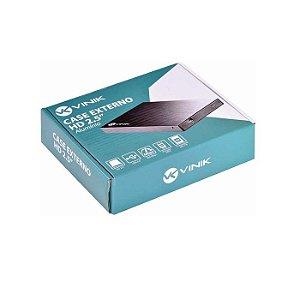GAVETA PARA HD/SSD 2.5 SATA USB 2.0 CHDA-100 VINIK BOX