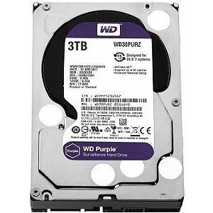 HD 3000GB SATA 3 6GB/S WD30PURZ 5400RPM PURPLE SURVEILLANCE WESTERN DIGITAL OEM