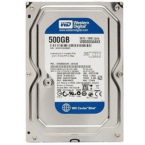 HD 500GB SATA 3 WD500AAJS 7200 RPM DESKTOP WESTERN DIGITAL OEM