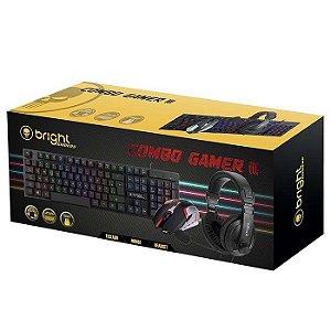 KIT TECLADO | MOUSE | HEADSET 0543 GAMER CB02 BRIGHT BOX